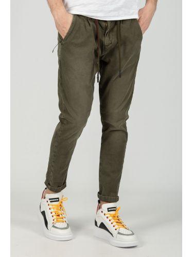 XAGON MAN chino παντελόνι CR7201 χακί