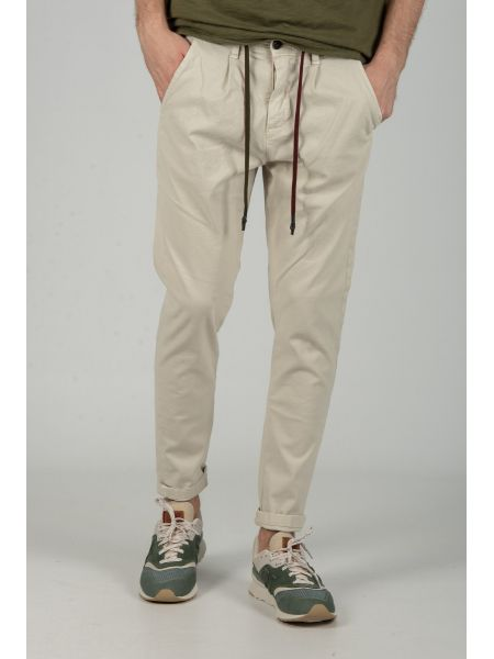XAGON MAN chino pants CR7201 ecrou