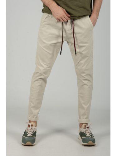 XAGON MAN chino παντελόνι CR7201 εκρού