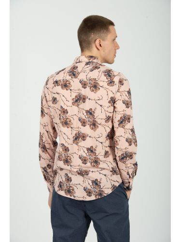 XAGON MAN πουκαμίσα AZEFFI ροζ
