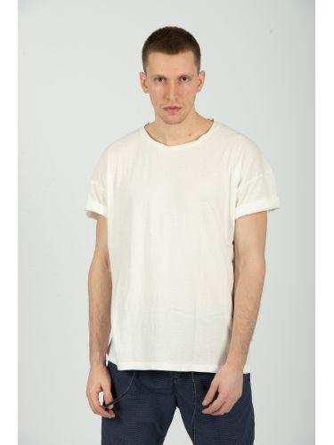 TIGHA t-shirt PINK COCKATOO MSN 105251 off white