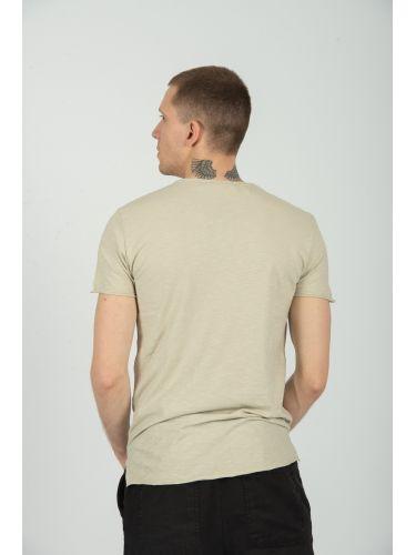 XAGON MAN t-shirt VUZ440 μπεζ