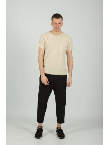 XAGON MAN t-shirt D12501 μπεζ