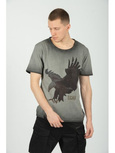 TIGHA t-shirt FEATHER EAGLE...