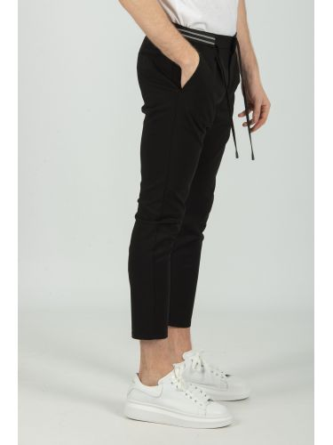 XAGON MAN παντελόνι chino PBUSTI μαύρο