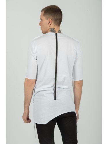 LA HAINE t-shirt 3M FUORI λευκό