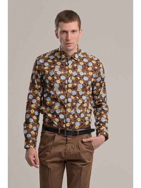 GUARDAROBA shirt GU-600/102 brown