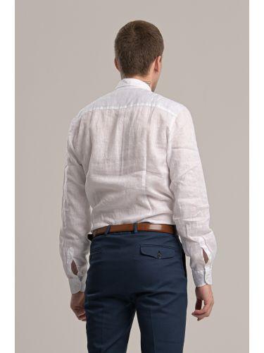 GIANNI LUPO πουκάμισο PG658 λευκό