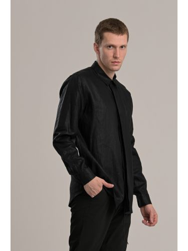 I AM BRIAN πουκαμίσα CA1273 μαύρη