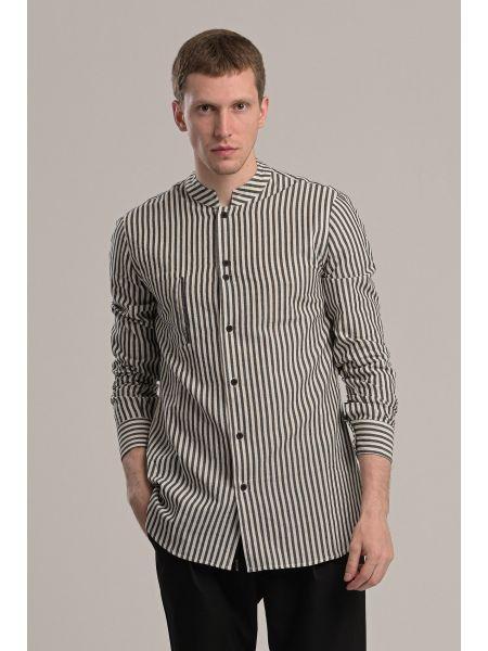 P/COC shirt P1046 white-black