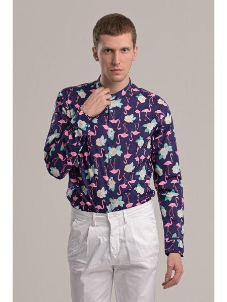 GIANNI LUPO shirt GL186N blue