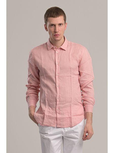 GIANNI LUPO πουκάμισο PG658 ροζ