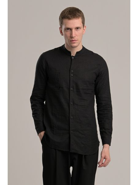 P/COC πουκάμισο P1040 μαύρο
