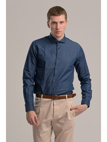 GUARDAROBA shirt PG-600/2829-01 blue