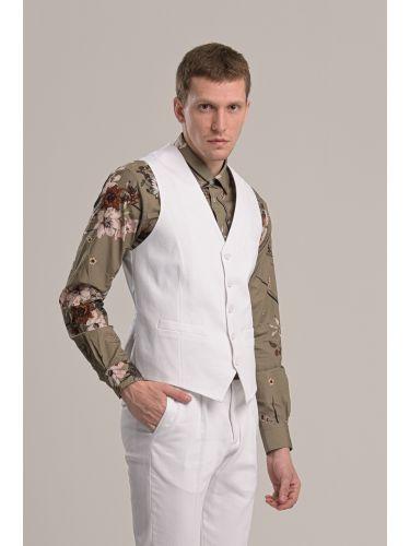 GUARDAROBA vest GUL-220/01 white