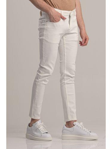 GIANNI LUPO jean GL707Y λευκό
