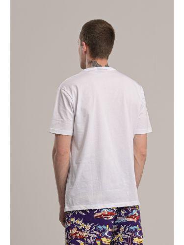 COMME DES FUCKDOWN t-shirt CDFU869 white