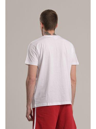 KAPPA t-shirt 304S0N0 910 white