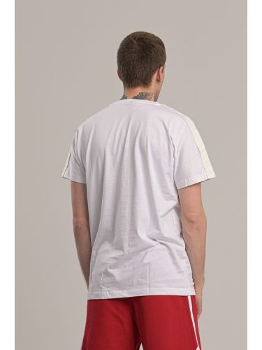 KAPPA t-shirt 304S7M0 A08 λευκό
