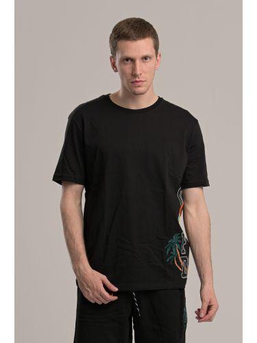 COMME DES FUCKDOWN t-shirt CDFU845 μαύρο