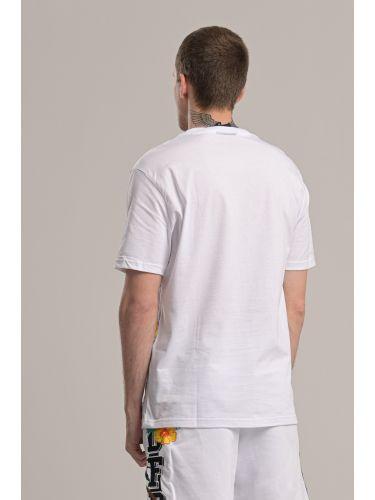 COMME DES FUCKDOWN t-shirt CDFU845 λευκό