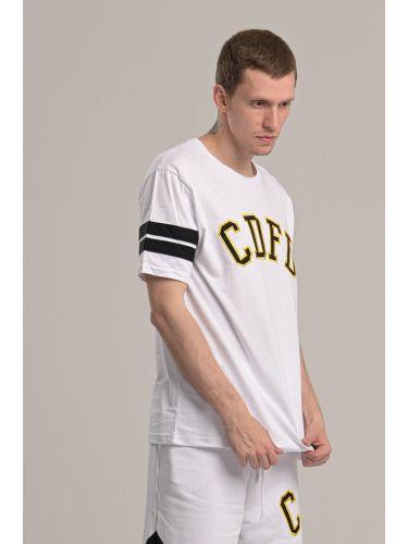 COMME DES FUCKDOWN t-shirt CDFU812 λευκό