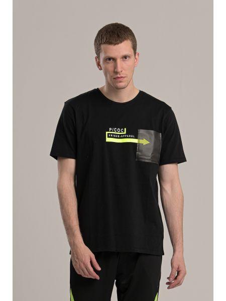 P/COC t-shirt P1002 black