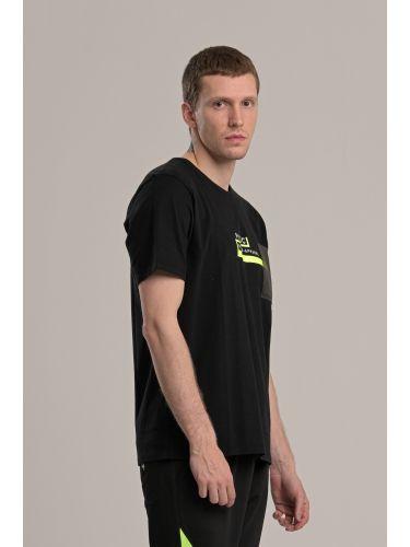 P/COC t-shirt P1002 μαύρο