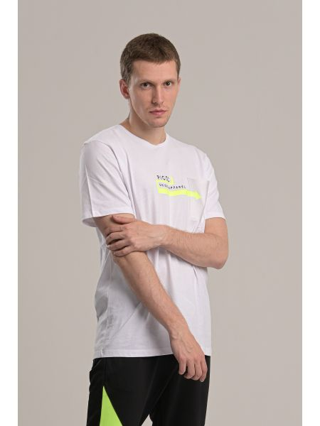 P/COC t-shirt P1002 white