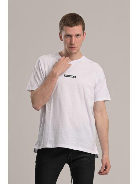 P/COC t-shirt P1018 λευκό
