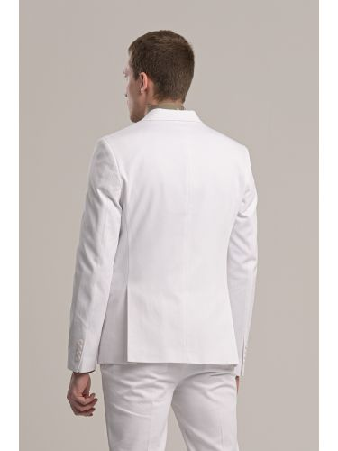 GUARDAROBA σακάκι GUS-220/01 λευκό