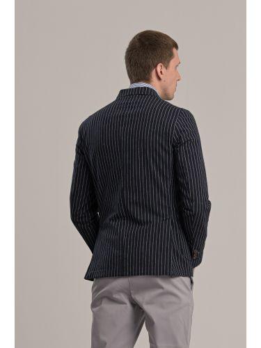 BESILENT MAN σακάκι BSGI0261 μπλε-λευκό