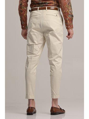 I AM BRIAN pants chino PA1252 ecru