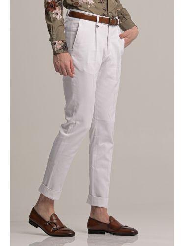 GUARDAROBA pants chino GPP-220/01 white