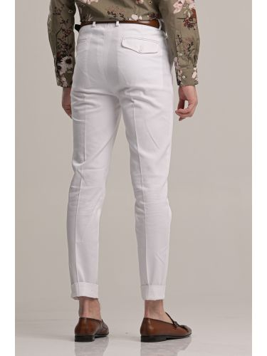 GUARDAROBA pants chino GPP-220/01 white