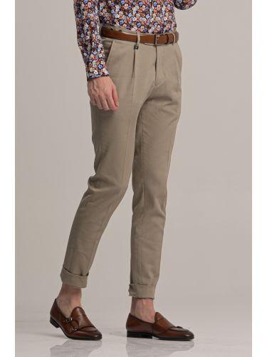 GUARDAROBA παντελόνι chino GPP-220/03 μπεζ