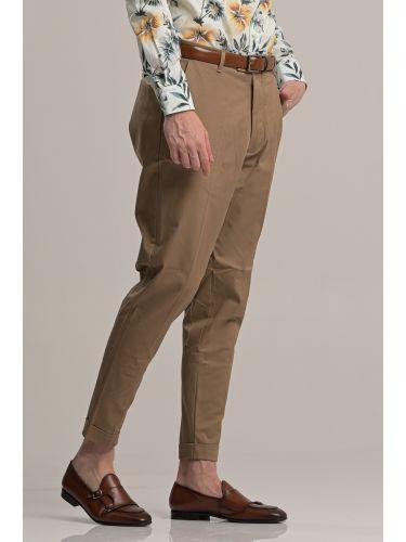 I AM BRIAN pants chino PA1252 brown