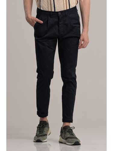 BESILENT MAN παντελόνι chino BSPA0389 μπλε