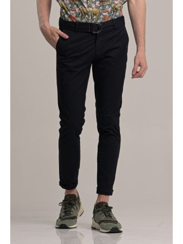BESILENT MAN pants chino BSPA0383 blue