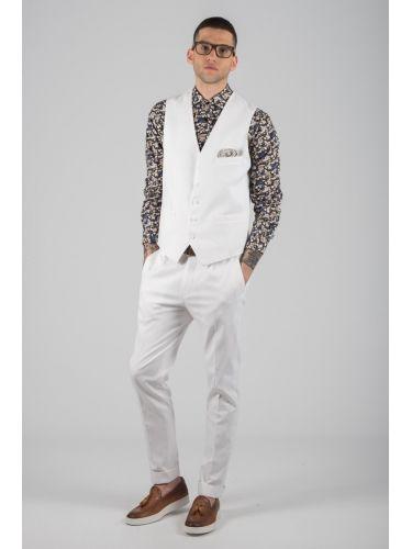 PAPILIO GARAMAS vest PGL-100/010 white