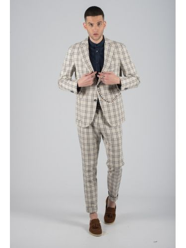 BESILENT MAN chino παντελόνι BSPA0292 μπεζ