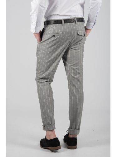 GUARDAROBA chino παντελόνι PPP-103/03 γκρι