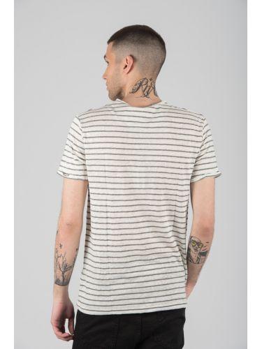 SURPLUS MAN t-shirt SW19265 off white-grey