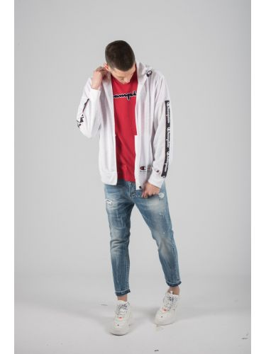 CHAMPION sweatshirt 212799-WL001 white