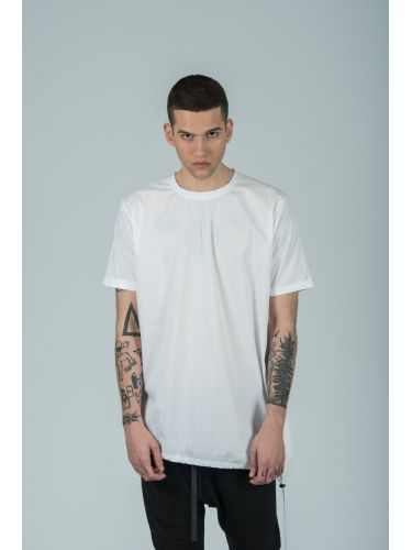 LA HAINE t-shirt 3M SHINE white