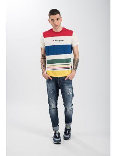 CHAMPION t-shirt 212793-WL009 πολύχρωμο