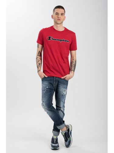 CHAMPION t-shirt 212946-RS010 κόκκινο