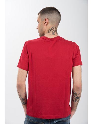 CHAMPION t-shirt 212946-RS010 κόκκινο