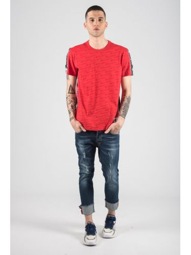 CHAMPION t-shirt 212807-RL005 red