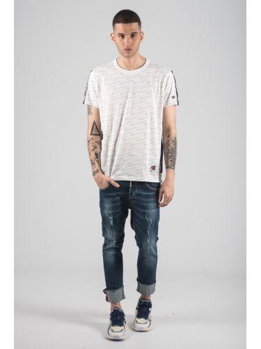 CHAMPION t-shirt 212807-WL001 white